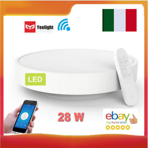Yeelight 28W LED Plafoniera Intelligente Lampada WIFI App Con Telecomando💎
