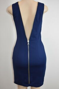 Flavio Castellani Blue Women's Cocktail dress Size 44 / 8 On Sale kp