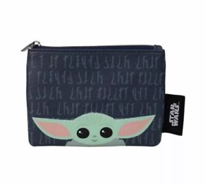 OFFICIAL STAR WARS THE MANDALORIAN THE CHILD BABY YODA SMALL PURSE 🇬🇧 SELLER