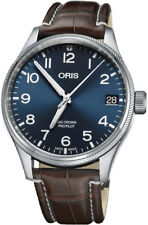 New Oris Big Crown ProPilot Date Leather Strap Men's Watch 75176974065LS