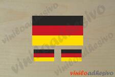PEGATINA STICKER VINILO Bandera Alemania Germany autocollant aufkleber adesivi