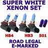 FITS TOYOTA COROLLA 2002-2004  SET HB3  HB4  501 HALOGEN XENON LIGHT BULBS