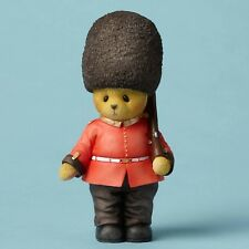 Cherished Teddies Dressed As A British Guard Red Coat Warm Heart