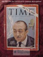 TIME magazine September 29 1961 Sept Sep 61 UN IN CRISIS MONGI SLIM