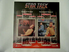 New Sealed Star Trek Laserdisc #11 Dager of the mind  #3 The Corbomite Maneuver