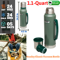 Stanley Classic Vacuum Thermos Bottle Coffee Stainless Steel Green Tea 1.1 Quart