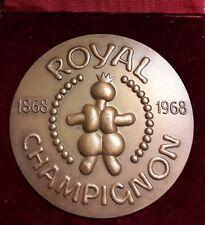 Médaille CENTENAIRE ROYAL CHAMPIGNON (1868-1968)  - 68 mm - Monnaie de Paris