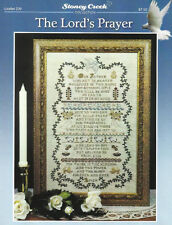 THE LORD'S PRAYER Stoney Creek Cross Stitch Pattern w/ Specialty Threads