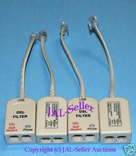 DSL / U-Verse Line Noise Eliminator filter kit. (4) Pack / Set Filters