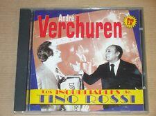 CD / ANDRE VERCHUREN / LES INOUBLIABLES DE TINO ROSSI / TRES BON ETAT