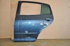 VW Golf 6 Plus Tür Türe Hinten Links Tür LC5F Grau Blau !!!TOP!!!