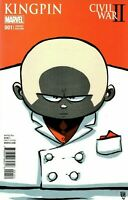 Civil War II Kingpin Comic Issue 1 Limited Skottie Young Variant Modern Age 2016