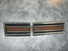1967 FORD GALAXIE 500 AND LTD DASH TRIM RIGHT SIDE WOODGRAIN SIDE OF GLOVE BOX
