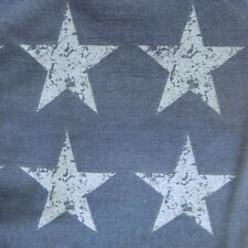 Stars And Stripes Blue Urban Stars Double Fitted Sheet Matching Items Available