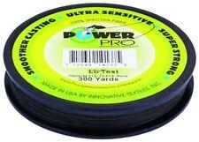 New! Power Pro Spectra Fiber Braided Fishing Line, Moss Green, 300Y 21100300300E