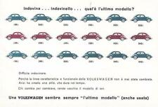 A9456) AUTO VOLKSWAGEN 1946 - 1963, QUAL E' L'ULTIMO MODELLO?.