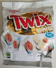 NEW TWIX WHITE CHOCOLATE COOKIE BARS FUN SIZE 9.70 OZ FREE WORLDWIDE SHIPPING