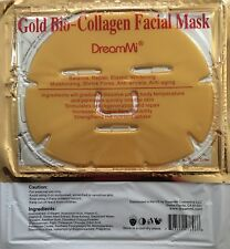 DreamMi®️  60 Pieces Gold Bio Collagen Facial Mask, EXP:04/2020