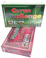 SPECIAL OFFER: Quran Challenge + Hadith Challenge Board Game - Set of 2