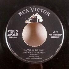 """Claude Yvoire Radio Geneva Orchestra 7"""" 45 EP RCA original EX"""
