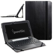 Poetic Slimbook stand Case for DELL XPS 10 10.1 Inch Window RT Tablet Black
