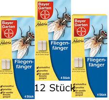 3x Pack Bayer Natria Fliegenfänger 3x4 = 12 Stück Sparpack