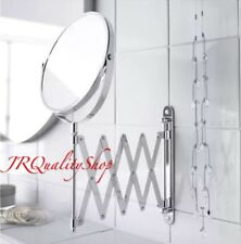 IKEA Mirror Extendable Magnifying FRACK Makeup Shaving Wall Mount-FREE SHIPPING