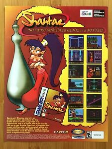 Shantae Game Boy Color 2002 Vintage Print Ad/Poster Authentic Official Promo Art
