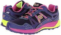 Fila Memory Statique Women's Running Shoes Sneakers Purple Violet Athletic