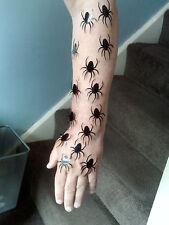 30 x Spinnenaufkleber scarry gespenstisch Kinder, Mädchen, Jungen