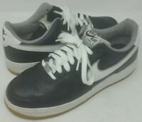 Nike Air Force 1 Low Top Size 11 BLACK AND WHITE SNEAKERS, SHOES