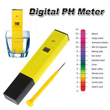 Digital PH Test Medidor De Pluma Digital Tester LCD Para Agua Piscina Aquario