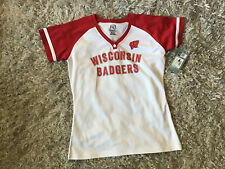 wisconsin badgers womens shirt By pro Edge, knights Apparel New With Tags