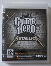 GUITAR HERO METALLICA SONY PS3  VERSIONE ITALIANA  NUOVO SIGILLATO PAL ITA SPA