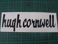 HUGH CORNWELL CAR STICKER (200mm x 64mm)