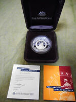 #T112.  2000 PROCLAMATION SILVER PROOF ONE DOLLAR  COIN