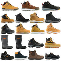 Scruffs Safety Work Boots Trainers Shoes Wellies (Various Types) Black Tan Brown