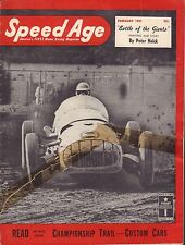 Speed Age Magazine February 1951 Peter Helck Custom Cars 080217nonjhe