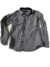 Finger In The Nose Checked Shirt Age 10-11 Years