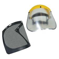 Casco de seguridad Hat Jardinería forestal motosierra Visor transparente