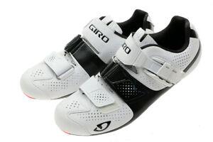 Giro Factor ACC 39.5 EU/6.75 US Matte White/Black Road Cycling Shoes NEW