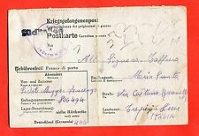 MILITARY-World War 2/WW2- Italian prisoner - STALAG VI F, MUNSTER (188-d53)