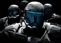 Framed Print - Star Wars Stormtroopers (Picture Poster Darth Vader Jedi Yoda Art