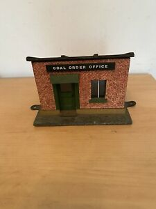 G scale station building Coal Order Office