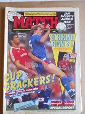 MATCH Magazine 30-01-1988 Bournemouth Team Soccer - Darren Wood  [P61]