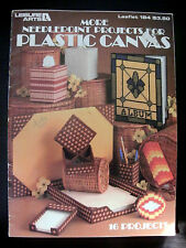 More Needlepoint Projects for Plastic Canvas Leisure Arts #184 Vintage Book