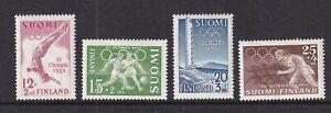 Finland Mint Stamps Sc#B110-B113 MLH