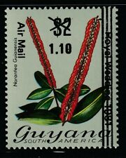 Guyana 1981 Sc # 378 Orchids Surcharged($1.10/$2) Mnh (55515)