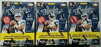 3x Panini Absolute Football Blaster 2017 Box NFL Trading Cards