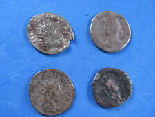 SCARCE Lot (4) unknown Rome Imperial Silver coins 1st cent.B.C.-3rd cent.A.D.